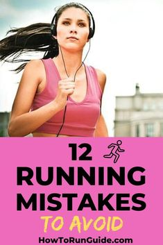 Don't make running harder, just avoid these 12 disastrous running mistakes. Running For Beginners, How To Start Running, Running Workouts, Running Tips, Body Workouts, Wellness Fitness, Health And Fitness Tips, Health Tips, Running Motivation