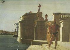 station d eau Dinamo Russian Painting, Russian Art, Gallery Magazine, Art Eras, Socialist Realism, Soviet Art, Realism Art, Reproduction, Art Deco Era