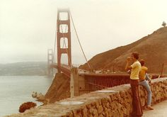 Golden Gate Bridge from Lookout by neville samuels, via Flickr