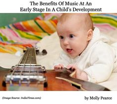 One of the best ways that you can encourage your children to learn at an early age is by exposing them to music. In fact, when you introduce a baby to music, it helps them form important neuron connections that help them develop their brain.