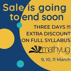 Extra discount up to ₹1500 on full syllabus!!! For more details check #mathyug #education #onlineclasses #learning #discount #fullsyllabus #exampreparation #class12maths #class11maths #mathematics #maths #mathstudent #scholarship #cbseboard #stateboard #upboard #biharboard Class 12 Maths, Home Learning, Growth Mindset, Self Development, Mathematics, Homeschool, Positivity, Student, Teaching
