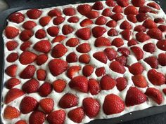 Raspberry, Strawberry, Sweet Tooth, Food And Drink, Yummy Food, Fruit, Forslag, Desserts, Recipes