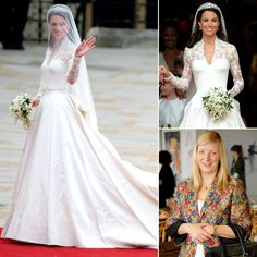 In what could be considered the biggest bridal coup in the world, Alexander McQueen designer Sarah Burton led a reported team of 60 to design a dress for the woman who would become the Duchess of Cambridge. In April 2011, Kate Middleton walked the aisle in front of millions in a custom Alexander McQueen gown — the ivory duchesse satin and hand-embroidered lace dress fit Kate like a glove, and ushered in a return to elegant, regal wedding wear.