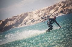 Kite Surf at Marseille Borely, France