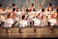 folk dance from the region Backa, Serbia