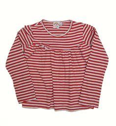 """Camiseta de raya de 3 años de 7 Colores-4,50 €.Prenda de segunda mano """"supernueva"""" de nuestra tienda online. Ropa de la mejores marcas a precios insignificantes www.charamusco.com"""