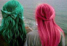 These are the colors I want my hair and I also want purple but I don't want all the colors in my hair in once.