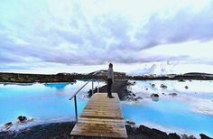 Taking a break at the Blue Lagoon in Iceland. Check out...