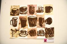 Coffee art by Hisham Assaad, via Behance