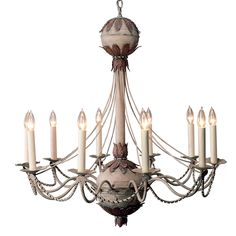 Plantation chandelier, Niermann Weeks