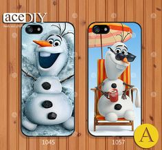 This is the cutest thing! Disney frozen Phone cases iPhone 5 case iPhone 5s case by aceDIY