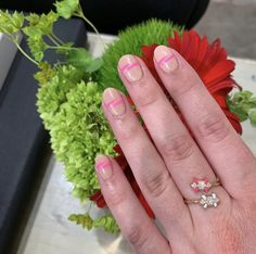 Or Rose, Rose Gold, Thing 1, 1 Carat, Solid Gold, Diamond Rings, Hand Painted, Color, Jewelry