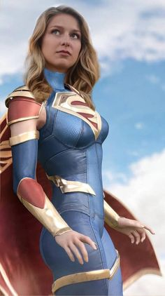Melissa Benoist as Supergirl Superhero Cosplay, Superhero Movies, Batgirl Cosplay, Marvel Girls, Comics Girls, Urbane Mode, Supergirl Superman, Supergirl Movie, Melissa Supergirl