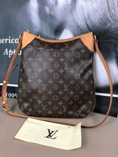5841010f80b9 LOUIS VUITTON Odeon MM Shoulder bag Monogram Canvas bag