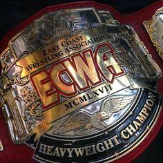 ECWA Unified Heavyweight Championship Title Belt