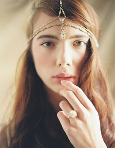 Enchanted Atelier by Liv Hart Fall/Winter 2015 Headpieces & Accessories Collection : http://www.fabmood.com/liv-hart-fall-2015-headpieces-accessories/