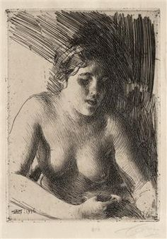 Bust - Anders Zorn