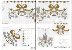 Gallery.ru / Фото #122 - Rico 10, 11, 12, 13, 14, 15, 16, 17 - Fleur55555 Cross Stitch Christmas Cards, Xmas Cross Stitch, Cross Stitch Borders, Simple Cross Stitch, Christmas Cross, Cross Stitching, Cross Stitch Embroidery, Cross Stitch Patterns, Christmas Sewing