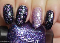 Glitters from The Face Shop | in a nutshell...#thefaceshop #faceit #glitter #nailpolish #korean