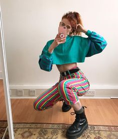 "76e5639099c LIBBY ✱ ✧ ☼ on Instagram  ""Issa look 🍬 (These trousers are from Depop for  every1 asking!) 💛"""