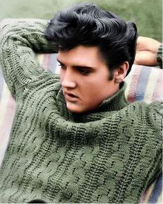 Elvis on set of Jailhouse Rock