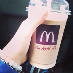 Chocolate Shake from Mc <3