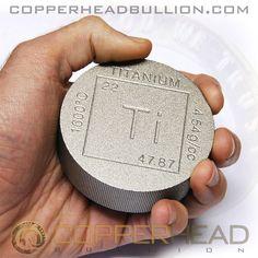 Bullion Buy Cheap .999 Titanium Ingot Bar Bullion 1 Pound Titanium Bar Titanium Ingot Billet