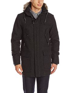 Elie Tahari Men's Herringbone Wool Snorkel Coat with Detachable Hood, Charcoal, XX-Large ELIE TAHARI http://www.amazon.com/dp/B00K07522O/ref=cm_sw_r_pi_dp_LZqjub1T0DHNV