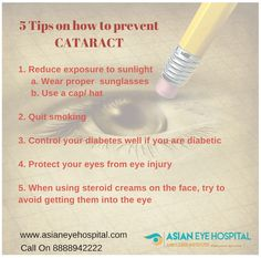 5 tips on cataract how to prevent CATARACT