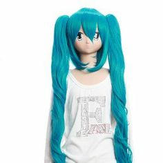 Cosplay Wigs Vocaloid Miku Blue Wigs with Two Long Curly Ponytails Cosplay Wigs Party Wigs Lovely Costume Wigs by GOOACTION. $42.28. Hair Style: Cosplay Wigs. Color : AS PICTURE ,Color Shown: (Color may vary by monitor.). Package:1 PCS. Material : High temperature wire. Length :about 37.4 inch. Brand: GOOACTION Recommended features: 1. Super natural wig , suitable for almost every lady aged from teenagers to adults. 2. With the high technology, Miss Beauty wig s...