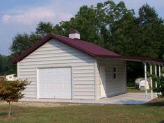 Carolina Structural metal barn