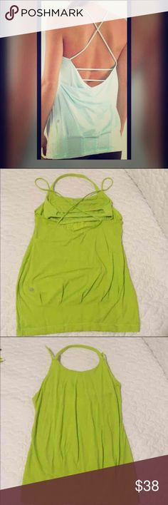 Euc lululemon tank Sz 4 in excellent used conditions, no flaws the color is just beautiful unfortunately it doesn't fit my breast well or else I'd keep it. lululemon athletica Tops Tank Tops