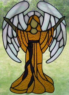 93 Best Stained Glass Angels Images On Pinterest Stained Glass