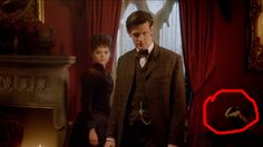 BADGER. WAS THAT REALLY IN THERE I JUST WATCHED THIS EPISODE LAST NIGHT HOLY TARDIS OF GALLIFREY WAS THAT REALLY THERE