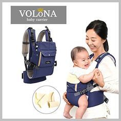 Volona S The Worlds First UprightGuard Comfort Baby Carrier Safty Support Mothers Back Blue *** Want additional info? Click on the image.