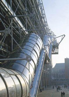 Renzo Piano Architecture Centre Pompidou  #architecture #Piano #Renzo Pinned by www.modlar.com