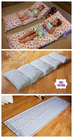 Diy Simple Roll Up Pillow Bed Tutorial - Video , diy einfache roll up pillow bed tutorial - video , , tutoriel diy simple roll up pillow bed - vidéo , tutorial diy simple roll up pillow bed - video Bed Cushions, Baby Pillows, Kids Pillows, Floor Cushions, Pillow Beds, Pillow Mattress, Burlap Pillows, Decorative Pillows, Diy Bett