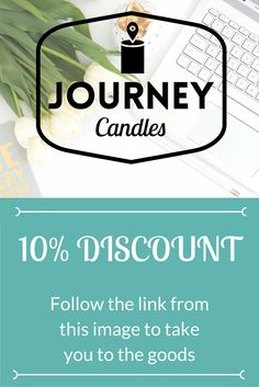Thats right, we're offering a 10% discount at the moment. Perfect time to get in those spring scents :D Just click the link to get started.