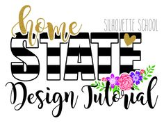 How to Design in Silhouette Beginner Tutorial for Striped states