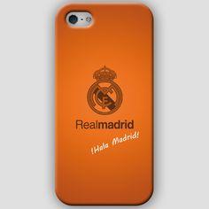 Fundas para iPhone 4-4s-5-5s, con diseños del Real Madrid CF. Materiales policarbonato semiflexible y  color naranja Puedes ver más detalles y Comprar con envió gratis en: http://www.upaje.com/shop/fundas-moviles/real-madrid-cf-iphone-5-5s/ #fundas #carcasas #iphone4 #iphone4s #iphone5 #iphone5s #realmadrid #naranja