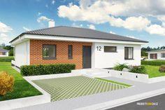 projekty domů - projekt domu Optim100