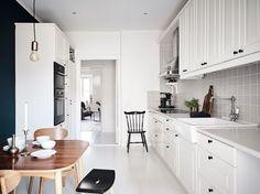 estilo nórdico espacios diferentes con color decoración interiores contrastes con color cocinas pequeñas cocinas nórdicas…