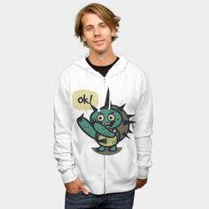 Ok! hoodie by Mukee http://geek.ragebear.com/8ojdx