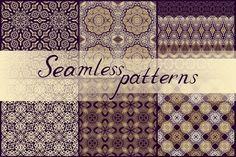 Set of ornamental textures by Dainia on @creativemarket