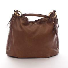 Exklusive Hobo Bag von Prada in Braun - feminin und zeitlos