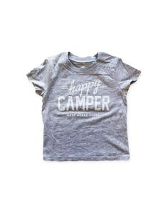 Image of HAPPY CAMPER TODDLER T | GREY