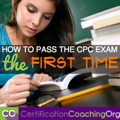How To Pass The CPC Exam The First Time Is it your first time taking the CPC exam? Ready for it? Well, that's ok, nobody ever really feels completely ready. It& true that a Cpc Certification, Medical Coding Certification, Medical Coding Training, Medical Coder, Medical Billing And Coding, Medical Terminology, Medical Transcription, Medical Assistant, Certified Professional Coder