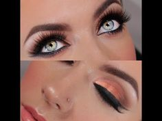 Copper and Gold Evening Summer Look