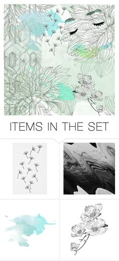 """calm"" by azul-blue ❤ liked on Polyvore featuring art"