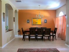 All things beautiful....: Before and After- Dining Room